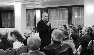 DiEM25 Greece on election campiagn tour in Greece for the 2019 european election.