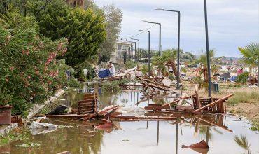 Χαλκιδική-καταιγίδα