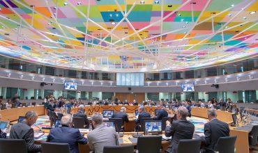 Óõíåäñßáóç ôïõ Eurogroup, ôçí ÄåõôÝñá 8 Éïõëßïõ 2019, óôéò ÂñõîÝëëåò. (EUROKINISSI/ÅÕÑÙÐÁÚÊÇ ÅÍÙÓÇ)