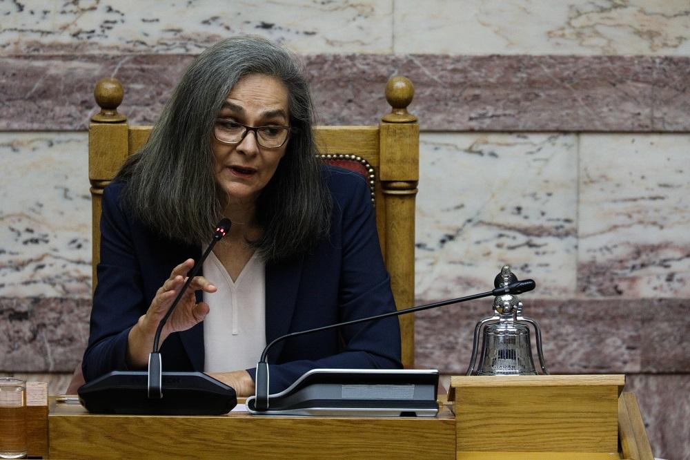 Σοφία Σακοράφα: Η Βουλή των Ελλήνων δεν θα έπρεπε να ανεχθεί την ...